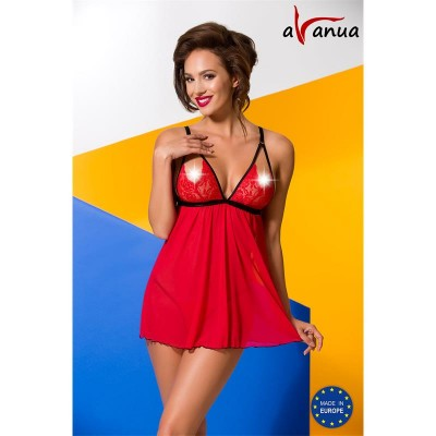 Salome Chemise Red